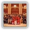 Craig with the cast and crew of The Music Man at The Royal Opera House in Oman, October 2012